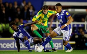 Che Adams has praised the work being done by Birmingham boss Garry Monk and his staff.