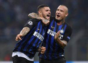 Radja Nainggolan says he feels settled at Inter Milan and hopes to help his side challenge for silverware.
