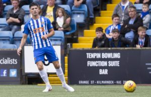 Kilmarnock winger Jordan Jones returns from a two-match ban for the Ladbrokes Premiership game against Rangers at Ibrox on Wednesday night.