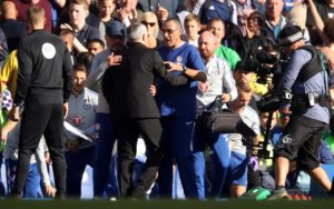 Maurizio Sarri apologised to Jose Mourinho for the behaviour of Marco Ianni, who will be asked to explain himself to the Chelsea boss.