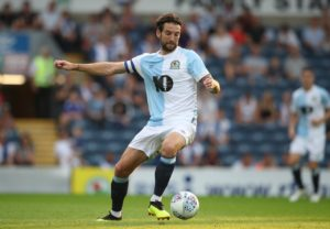 Blackburn skipper Charlie Mulgrew is expected to be fit for the home game against Leeds.