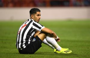 Newcastle striker Ayoze Perez has called on his team-mates to step up this weekend when they host Brighton.