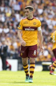 Carl McHugh is suspended for Motherwell's Ladbrokes Premiership clash with St Johnstone at Fir Park on Saturday.