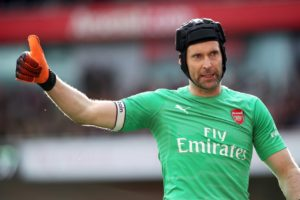 Petr Cech will start in goal for Arsenal in their Carabao Cup fourth-round tie at home to Blackpool, Unai Emery has confirmed.