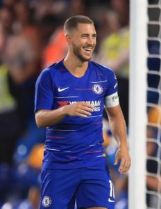 Eden Hazard can become the world's best player by staying at Chelsea, according to Blues boss Maurizio Sarri.