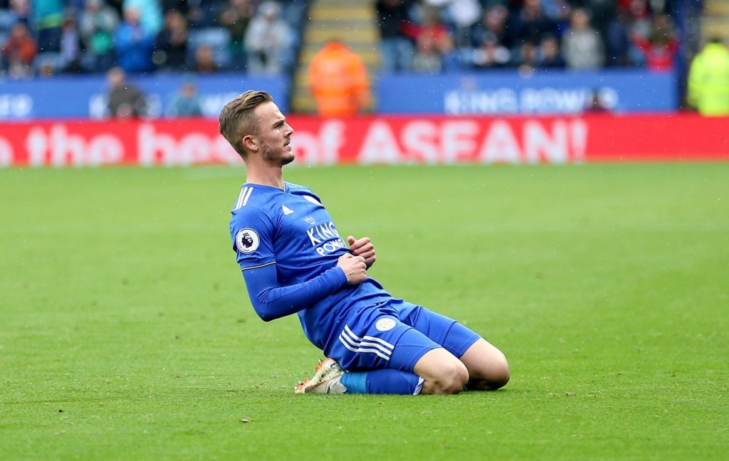 James Maddison says the fact Leicester have a number of England internationals played a role in his decision to join the club.