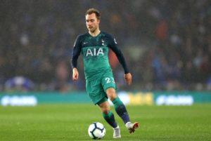 Tottenham midfielder Christian Eriksen may have a 'chronic' stomach injury, according to Denmark coach Age Hareide.