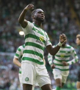 Odsonne Edouard is hoping to lead Celtic to victory when they visit RB Leipzig in the Europa League on Thursday.