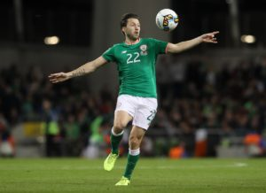 Harry Arter says his row with Roy Keane is in the past as he looks to move on with the Republic of Ireland.