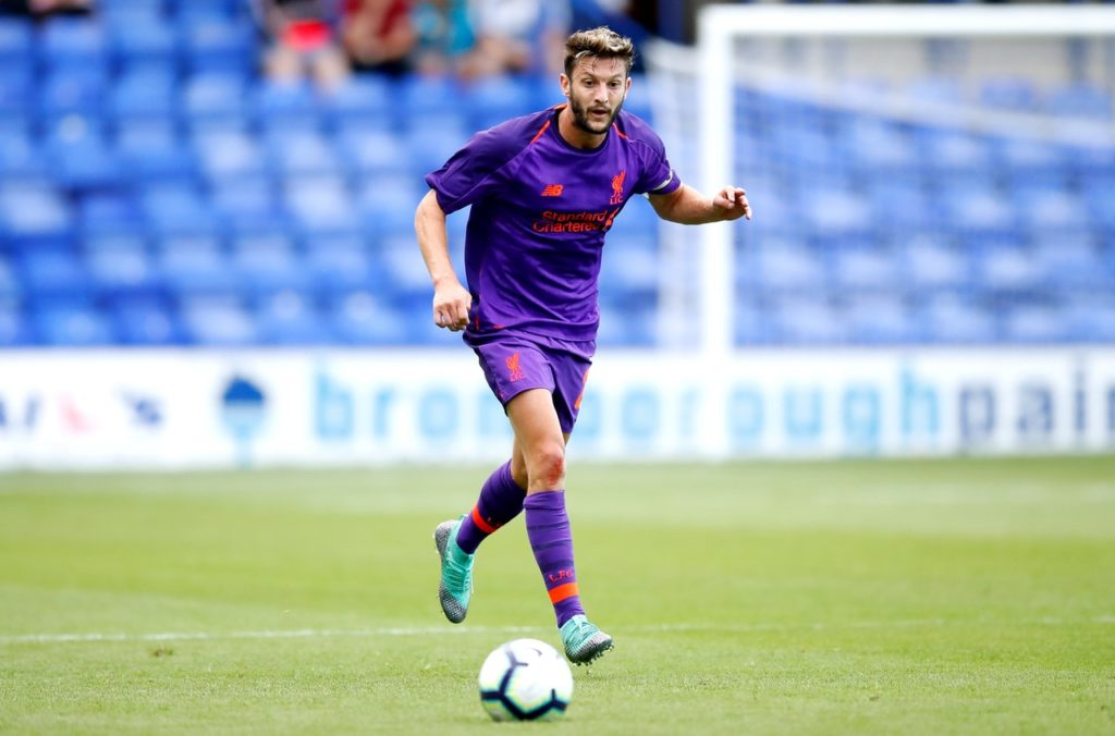 Adam Lallana is set to return to the Liverpool squad for the Premier League trip to Huddersfield after the international break.