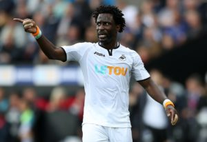 Ivory Coast forward Wilfried Bony is set to step up his recovery from a serious knee injury when he returns to full training with Swansea.