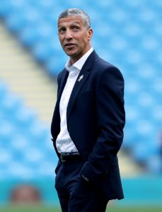 As he prepares to return to St James's Park, Chris Hughton insists he does not dwell on what might have been at Newcastle.