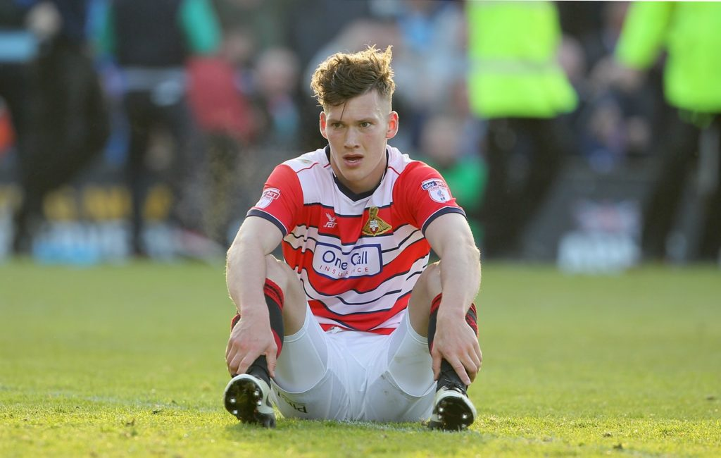 Doncaster will be without centre-half Joe Wright for this weekend's visit of Gillingham because of suspension.