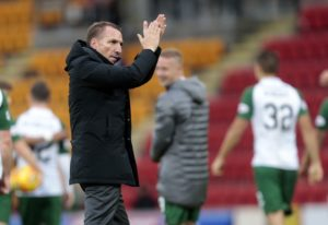 Brendan Rodgers insists he is 'loving every second' of his time at Celtic amid Aston Villa speculation.