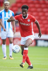 On-loan Chelsea forward Ike Ugbo is a doubt for Scunthorpe's League One clash with Charlton after picking up a suspected hamstring injury.