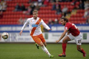 Striker Steven Davies is still pushing to begin his second spell at Blackpool.