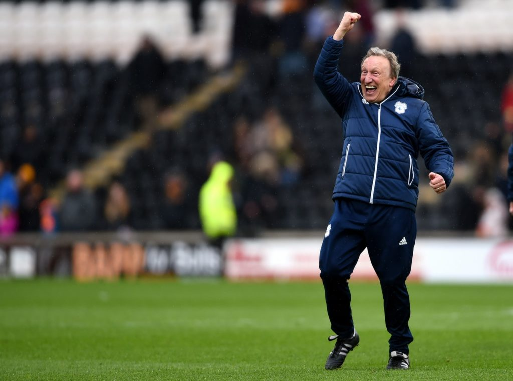 Neil Warnock has thanked the Cardiff City fans for their 'amazing' support as the club waits for a first Premier League win.