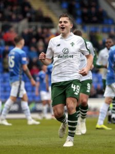 James Forrest helped himself to four first-half goals as commanding Celtic crushed St Johnstone 6-0 in their Ladbrokes Premiership clash at McDiarmid Park.