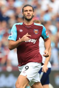 West Ham are hopeful Andy Carroll will be able to return from his latest injury setback after this month's international break.