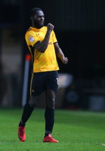 Frank Nouble scored twice as Colchester secured a convincing 3-1 home win over Yeovil.