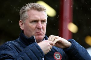 Dean Smith has 'no plans' to leave Brentford for Aston Villa.