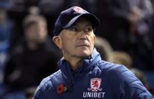 Tony Pulis will make 'a lot of changes' to his Middlesbrough side for Wednesday's Carabao Cup visit of former club Crystal Palace.