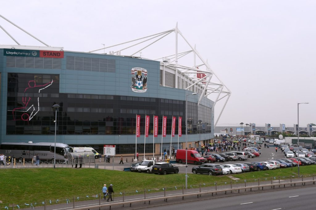 Coventry hope to agree a new deal to stay at the Ricoh Arena beyond the end of this season.