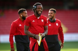 Watford midfielder Nathaniel Chalobah has the ability to kick on and improve, according to Chelsea wing-back Ola Aina.