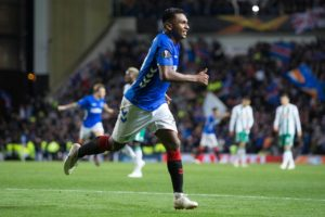 Alfredo Morelos' double ensured Rangers marked the return of group stage action to Ibrox with a 3-1 win over Rapid Vienna.