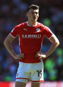 Barnsley could be without top goalscorer Kieffer Moore for their Sky Bet League One fixture against Luton this weekend.