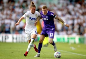 Stoke winger James McClean is hoping to return to action in the home game against Bolton.