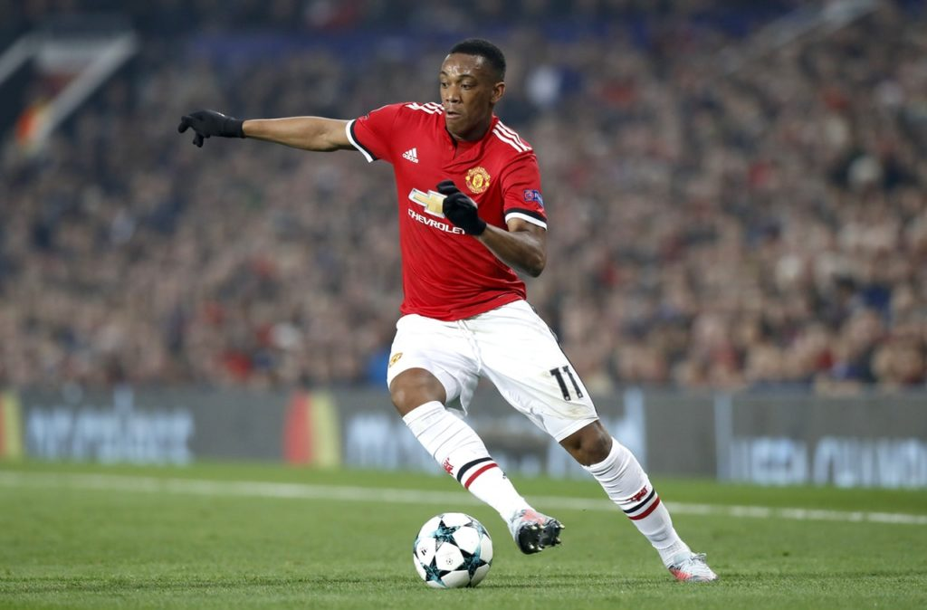 Manchester United's Ashley Young is confused at team-mate Anthony Martial's continued omission from France's national team.