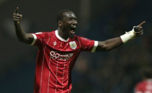 Famara Diedhiou headed in a stoppage-time winner as Bristol City stepped up their Championship play-offs challenge with a 1-0 victory over Hull at Ashton Gate.