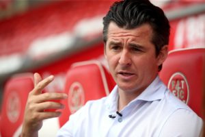 Joey Barton hailed his history boys and says that their first ever Fylde coast derby win over Blackpool is for the people of Fleetwood.