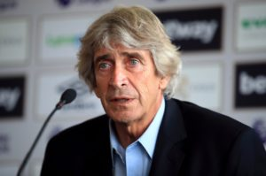 According to reports West Ham boss Manuel Pellegrini has no plans to add to his squad in the new year, unless injury forces his hand.
