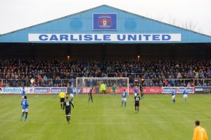 Carlisle's Brunton Park jinx continued as they slumped to a fourth home defeat in succession, losing 2-0 to Morecambe.