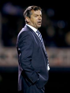 Swindon manager Phil Brown was left frustrated after his side were held to a 0-0 draw by 10-man Mansfield on David Flitcroft's return to the County Ground.