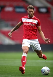 Bristol City will monitor Nathan Baker ahead of the clash with Hull.