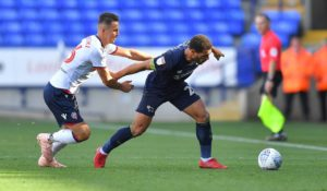 Bolton defender Pawel Olkowski is hoping to return to action in the home game against Hull.