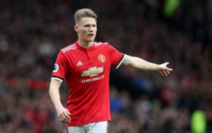 Manchester United are thinking of sending young midfielder Scott McTominay out on loan in January with Leeds ready to take him.
