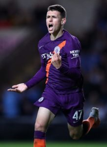 Juventus are reportedly considering making a move for Manchester City academy graduate Phil Foden.