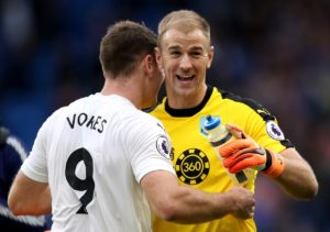 James Tarkowski says Joe Hart just has to keep performing for Burnley if he is to force his way back into the England squad.