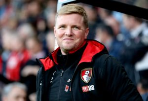Eddie Howe says he is pleased with the progress Bournemouth are making after a strong start to the season.