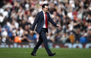 Arsenal boss Unai Emery believes it is too early for chants of 'we've got our Arsenal back' and says more improvement is needed.