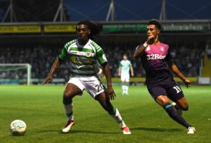 Yeovil will be without midfielder Sessi D'Almeida through suspension for the visit of Tranmere.