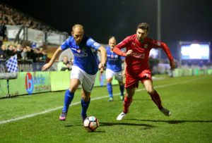 Swindon boss Phil Brown is hoping top-scorer Michael Doughty will be fit to return for his side's League Two clash with Mansfield.