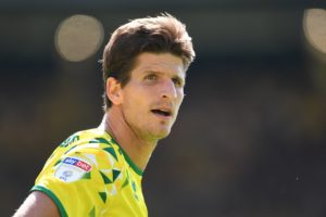 Norwich's eight-match unbeaten run in all competitions came to an end at Carrow Road when Stoke recorded a fortunate 1-0 win in the Sky Bet Championship.