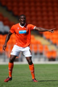 Donervon Daniels is available again after suspension when Blackpool host Rochdale on Saturday.