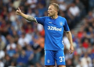 Scott Arfield is out of Rangers' Premiership clash with Hamilton Academical on Sunday because of a hamstring issue.