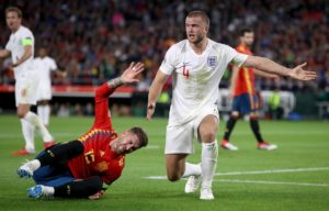 Mauricio Pochettino believes Eric Dier's impressive tackle on Sergio Ramos for England came from a Tottenham mentality.